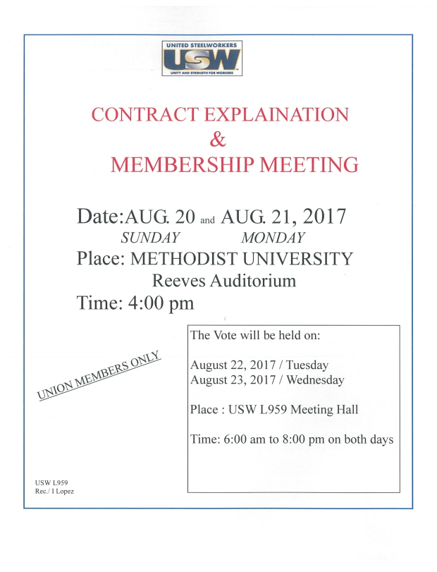 meeting contract2017