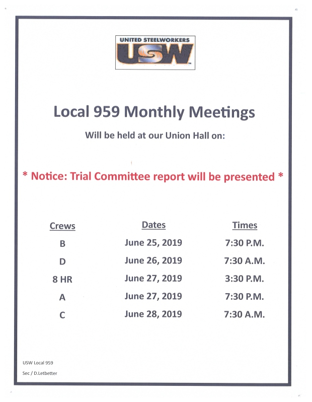 june mem meetings 19.XSM